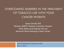 Ppt Overcoming Barriers In The Treatment Of Tobacco Use