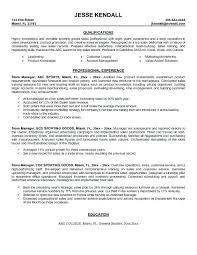 Simple Decoration Sports Management Resume Management Resume Resume