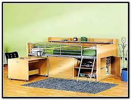 storage loft bed with desk bundle