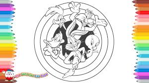 Small Picture Coloring Pages Looney Tunes Bugs Bunny Daffy Duck Road Runner