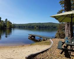 Cozy Cottage With Beautiful Private Beach On Webster Lake Franklin