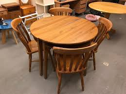 Pine Kitchen Tables And Chairs Ikea Split Space Saver Dining Table With Solid Pine Dining Chairs