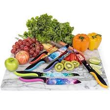 Has been added to your cart. Cosmos Kitchen Knife Set In Gift Box