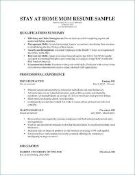 Homemaker Resume Sample Custom Stay At Home Mom Job Description For Resume Beautiful Stay At Home