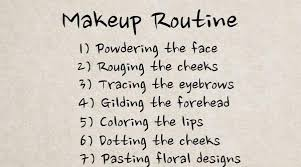 7 steps of the tang dynasty makeup routine