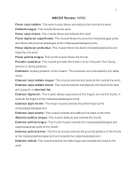 Nbcot Review Of Hand Page 3 Nbcot Exam Prep Pinterest