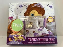 details about disney sofia the first twin size sheet set every good deed is magic new
