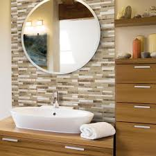 decorative wall tiles for bathroom. Decorative Wall Tile Smart Tiles Muretto Durango 10.20 In. W X 9.10 H Peel For Bathroom