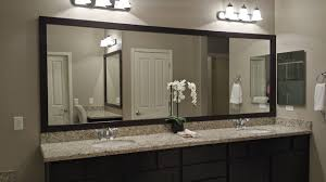 bathroom vanity mirrors. Las Vegas Master Bathroom Mirror And Vanity (Before After) Contemporary Mirrors E