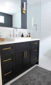 bathroom cabinet handles and knobs.  And Black Bathroom Vanity With Gold Hardware Vintage Bathroom Oliver And  Simon Design And Cabinet Handles Knobs