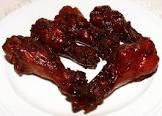 bergy dim sum  10  honey soy braised chicken wings