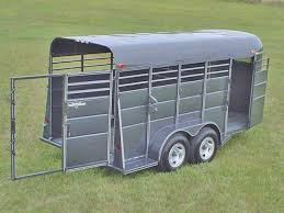 calico stock horse trailers johnson trailer co calico stock horse trailers