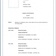 Official Resume Formats Resume Blob Formal Resume Example Format Of Simple Resumes