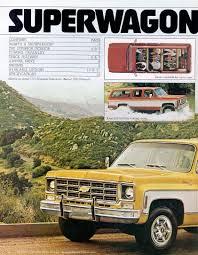 Car Brochures - 1978 Chevrolet and GMC Truck Brochures / 1978 ...
