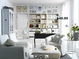 home office in dining room. white french home decor 2011 trends ikea view u2013 trend design love the sittting room combined with offtice use of in shelving office dining t