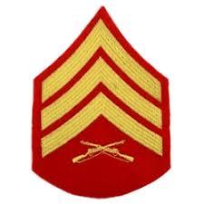 Eagles Of War Marine Corps Rank Sergeant E 5 Sgt