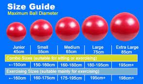 Exercise Ball Size Chart Sustainable Eco Friendly Products Exercise Balls With Custom Logo Gym Ball 65 Cm 65cm Yoga Ball Buy 65cm Yoga Ball Product On Alibaba Com
