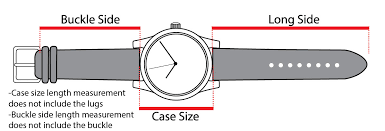 Mens Watch Case Size Chart Watch Sizing Guide Find Your Right Watch Size Esslinger