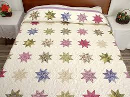 Variable Stars Quilt -- marvelous smartly made Amish Quilts from ... & Lavender and Multi Variable Stars Quilt Photo 1 ... Adamdwight.com