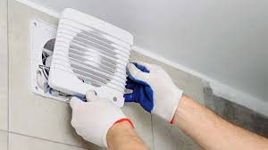 installing a through the wall exhaust fan