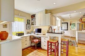 Kitchen Office Six Ideas For Creating A Dual Purpose Home Office Modernize