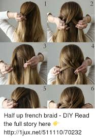 French Hairstyles 50 Stunning 24 簅 R Half Up French Braid DIY Read The Full Story Here