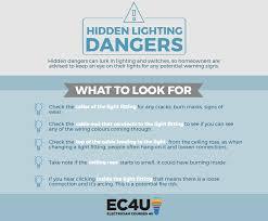 lighting dangers infographic