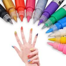 Nail Art Pen Painting Design Tool Drawing For UV Gel Polish Many ...