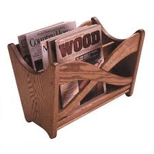 View a Larger Image of Downloadable Woodworking Project Plan to Build Magazine  Rack