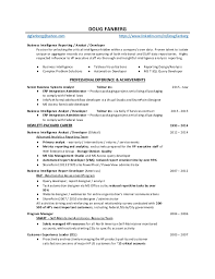 Business Systems Analyst Resume Template New System Analyst Resume Engneeuforicco
