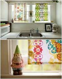 Easy Kitchen Curtains