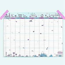 Office Calender Us 0 75 10 Off 2019 365days Paper Wall Calendar Office School Daily Planner Notes Very Large Study New Year Plan Schedule 43 58cm In Calendar From