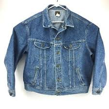 Lee Jeans Size Chart Details About Vintage Lee Denim Truckers Jacket Size Xl Made In Usa