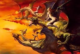 Dragon and woman sex