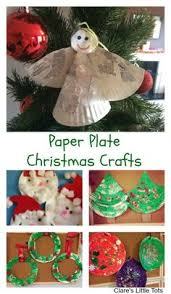 Beautiful Sponge Painted Poinsettias A Simple Christmas Craft For Christmas Crafts Toddlers
