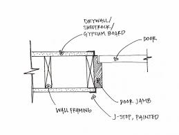 rless glass door detail glass garage door jamb detail motor modern modern door jamb