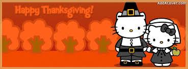 thanksgiving o kitty facebook cover