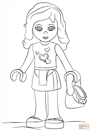 Small Picture Lego Friends Olivia coloring page Free Printable Coloring Pages