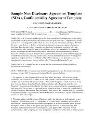 Confidentiality Agreement Samples Standard Confidentiality Agreement Samples Business Document