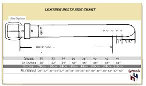 Leather Belt Hyb 04 A
