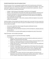 Project Proposal Apa Format 15 Project Proposal Format Sample Proposal Letter
