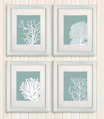 white framed beach wall art