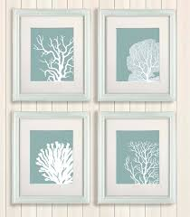 full size of beach house decor 4 unit of c prints mist blue or green wall