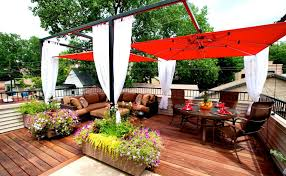 Backyard Deck Design Magnificent You'll Fall In Love With These Stunning Rooftop Deck Designs