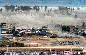earthquake and tsunami as it happened telegraph tsunami waves hit residences after a powerful earthquake in natori miyagi prefecture picture ap