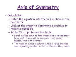 9 axis of symmetry calculator