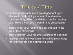 tips to getting your resume noticed in elec databases how to get resume