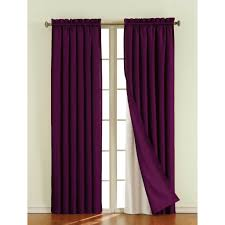 Purple Curtains For Living Room Interior Design Brown Window Blackout Curtain For Stylish Living
