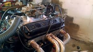 350 Chevy motor - for sale - YouTube