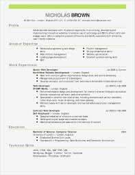 Online Resume Builder Free Template Unique Best Resume Building